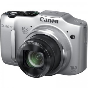 Canon PowerShot SX160 IS argintiu