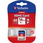 Card memorie Verbatim SDHC 16GB Clasa 10