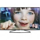 Televizor LED Philips Smart TV 42PFH6109/88 Seria PFH6109 107 cm negru Full HD 3D contine 4 perechi de ochelari 3D