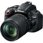 Nikon D5100 negru + obiectiv AF-S DX Nikkor 18-105mm f/3.5-5.6G ED VR