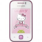Smartphone Samsung S5360 Galaxy Y Hello Kitty White