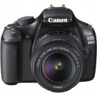 Canon EOS 1100D negru + obiectiv EF-S 18-55mm f/3.5-5.6 IS II