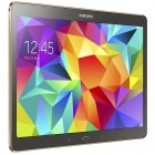 Samsung SM-T805 Galaxy Tab S, 10.5 inch MultiTouch, Cortex A15 1.9GHz Quad Core + Cortex A7 1.3GHz Quad Core, 3GB RAM, 16GB flash, Wi-Fi, 4G, Bluetooth, GPS, Android 4.4, Titanium Bronze
