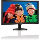 Monitor LED Philips 243V5LSB/00 23.6 inch 5ms black