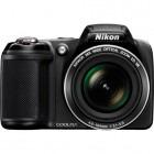 Nikon COOLPIX L330 Negru + Incarcator + 4 acumulatori + Card 8GB + Geanta
