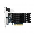 Placa video ASUS GeForce GT 730 Silent 1GB DDR3 64-bit