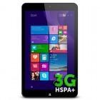 Allview Wi8G, 8 inch IPS MultiTouch, Intel Atom Z3735G Quad Core 1.33GHz, 1GB RAM, 16GB flash, Wi-Fi, 3G, Bluetooth, GPS, Win 8.1, Black