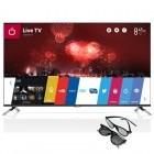 Televizor LED LG Smart TV 47LB671V Seria LB671V 119cm negru Full HD 3D contine 2 perechi de ochelari 3D
