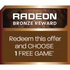 Bonus Radeon Bronze Reward - 1 joc gratuit la alegere - cupon