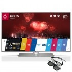 Televizor LED LG Smart TV 47LB650V Seria LB650V 119cm argintiu Full HD 3D contine 2 perechi de ochelari 3D