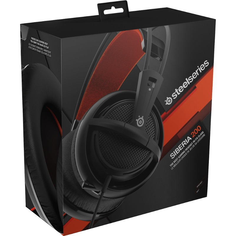 Siberia Platinum: [Gear] Casti Gaming SteelSeries Siberia 100 Black