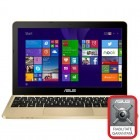 ASUS 11.6'' EeeBook X205TA, HD, Procesor Quad Core Intel® Atom™ Z3735F 1.33GHz Bay Trail, 2GB, 64GB flash, GMA HD, Win 8.1 Bing, Gold