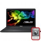 Notebook / Laptop ASUS 17.3'' X751LN, HD+, Procesor Intel® Core™ i7-5500U 2.4GHz Broadwell, 4GB, 1TB, GeForce 840M 2GB, FreeDos, Black