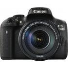 Canon EOS 750D Negru + obiectiv EF-S 18-55mm f/3.5-5.6 IS STM