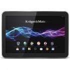 Tableta Kruger&Matz KM1060, 10.1 inch MultiTouch IPS, Cortex A9 1.6GHz Dual Core, 1GB RAM, 8GB flash, Wi-Fi, Bluetooth, Android 4.2, Black