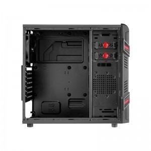 Sistem Gaming Black Fighter v6, AMD FX-4300, 4GB DDR3, 1TB HDD, R7 370 OC 2GB DDR5