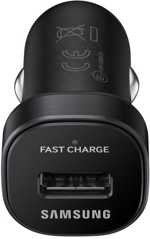 Incarcator auto GSM Samsung Auto EP-LN930, 1x USB, 2A, cablu microUSB, Black, Fast Charging