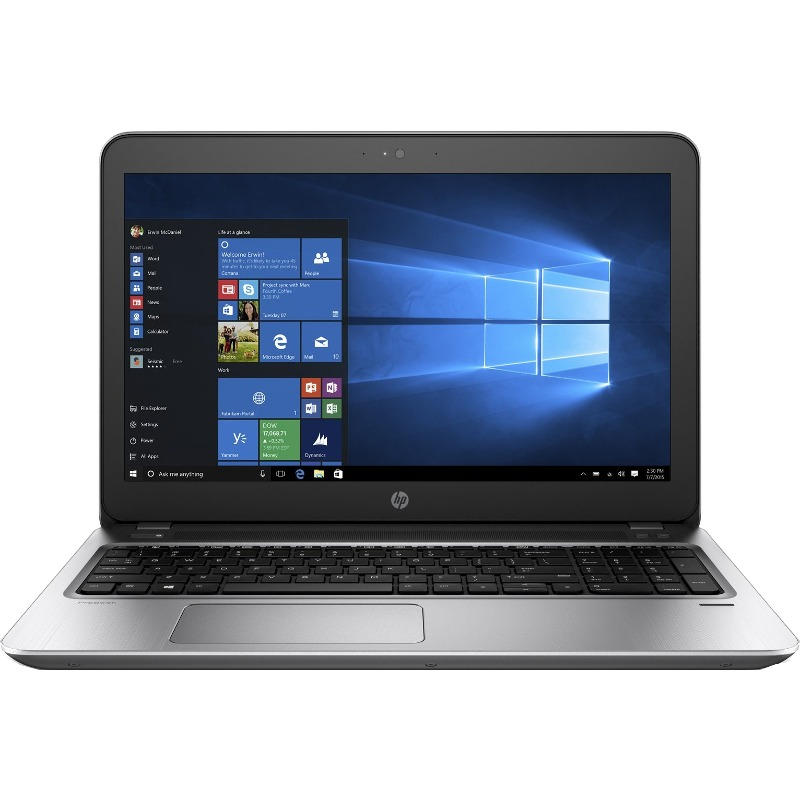Notebook / Laptop HP 15.6'' Probook 450 G4, FHD, Procesor Intel® Core™ i5-7200U (3M Cache, up to 3.10 GHz), 8GB DDR4, 500GB 7200 RPM, GMA HD 620, Win 10 Pro, MS Office Home&Business 2016 + Geanta inclusa