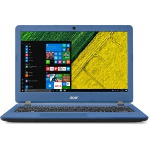 Notebook / Laptop Acer 13.3'' Aspire ES1-332, HD, Procesor Intel® Celeron® N3450 (2M Cache, up to 2.2 GHz), 4GB, 64GB eMMC, GMA HD 500, Win 10 Home, Blue
