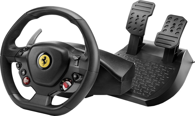 Volan Thrustmaster T80 Ferrari 488 GTB Edition pentru PC, PS4