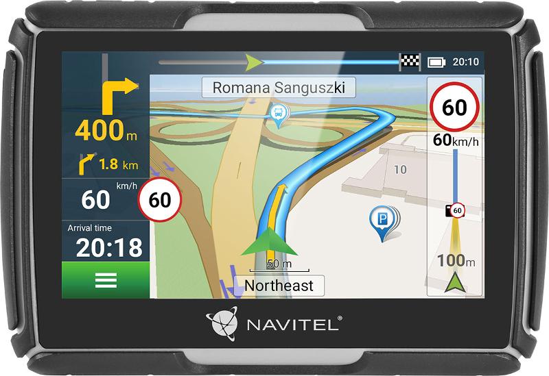 Navigator GPS NAVITEL G550 4.3 inch + Harta Full Europe + Suport