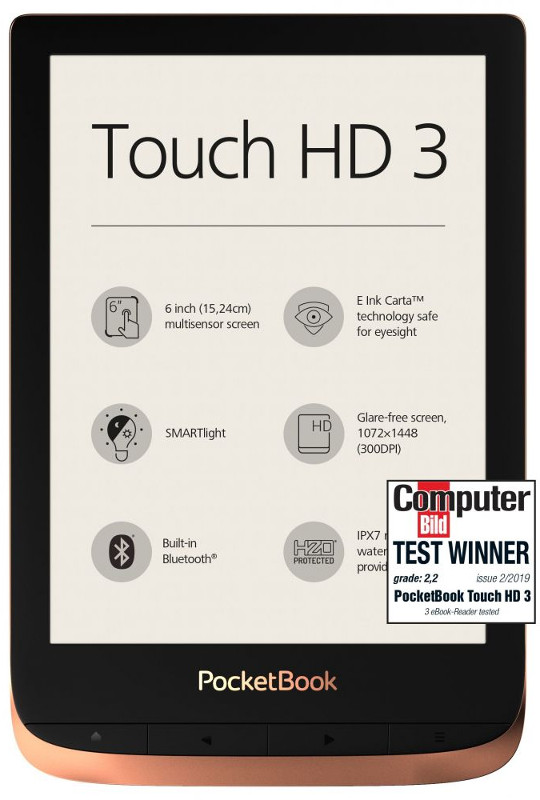 E-book Reader PocketBook Touch HD 3 Spicy Copper