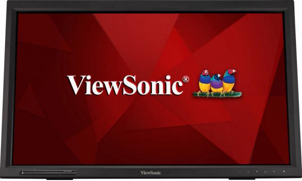 Monitor Touchscreen ViewSonic TD2423 23.6 inch 7 ms Negru 75 Hz