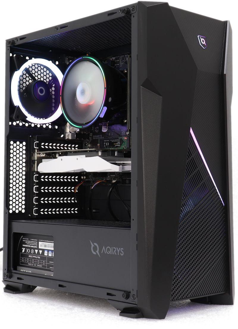 PC FirstGear Gaming Warglaive Powered By ASUS, AMD Ryzen 5 1600AF 3.2GHz, 8GB DDR4, 240GB SSD, GTX 1050 Ti 4GB GDDR5, Iluminare RGB