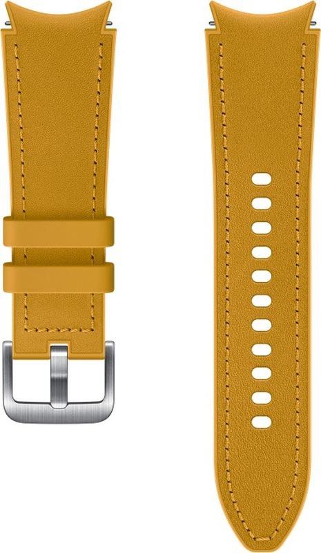 Curea Samsung Hibrid Band Classic S/M Mustard pentru Galaxy Watch 4/Classic