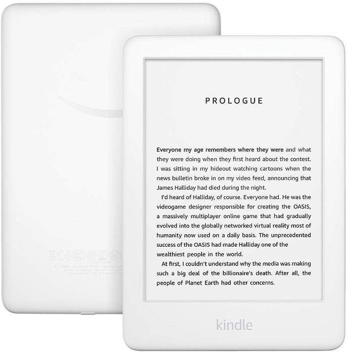 E-book Reader Amazon Kindle (2019), 6 inch, 8GB, Wi-Fi, White