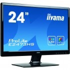 Monitor LED IIyama ProLite E2473HS-GB1 23.6 inch 2 ms Black