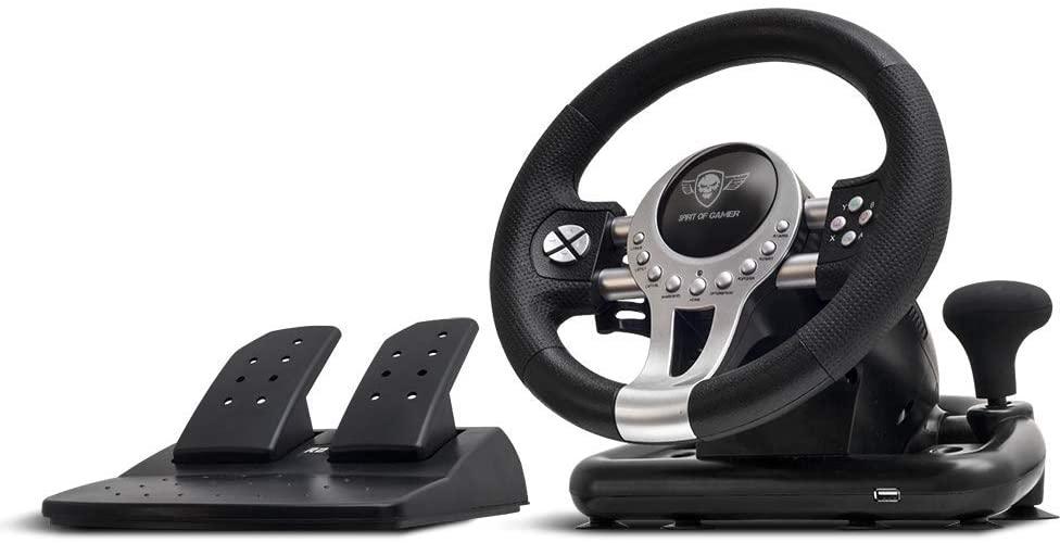 Volan Spirit of Gamer Race Pro 2 pentru PS3, PS4, Xbox One si PC